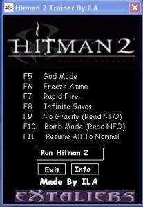 hitman 1 trainer free download